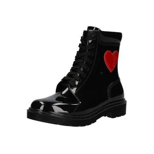 Love Moschino Kozaki sznurowane 'RAIN LOVE' czarny, w 6 rozmiarach