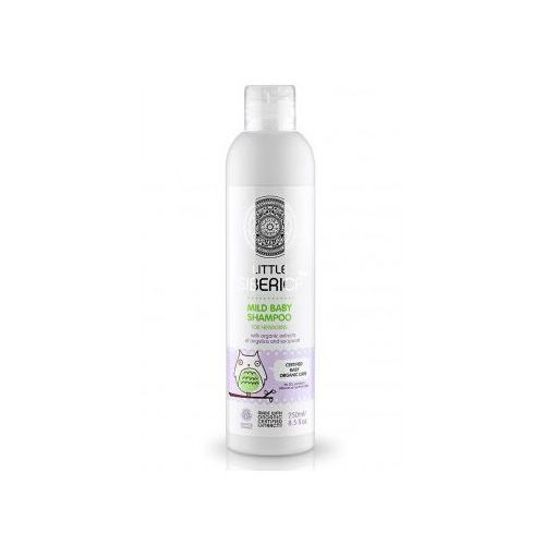 Łagodny szampon dla niemowląt z organicznym ekstraktem z arcydzięgla i mydlnicą lekarską Natura siberica