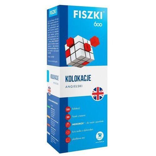 Fiszki 600 Język angielski Kolokacje - Patrycja Wojsyk, oprawa kartonowa