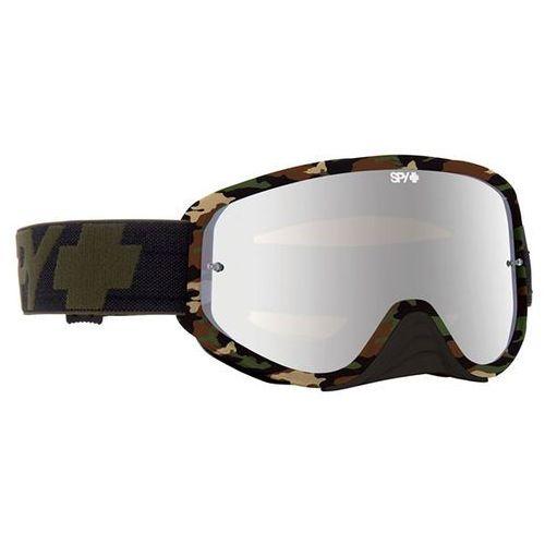 Spy Gogle narciarskie woot race fatigue - smoke w/ silver mirror (+clear anti fog w/ posts)