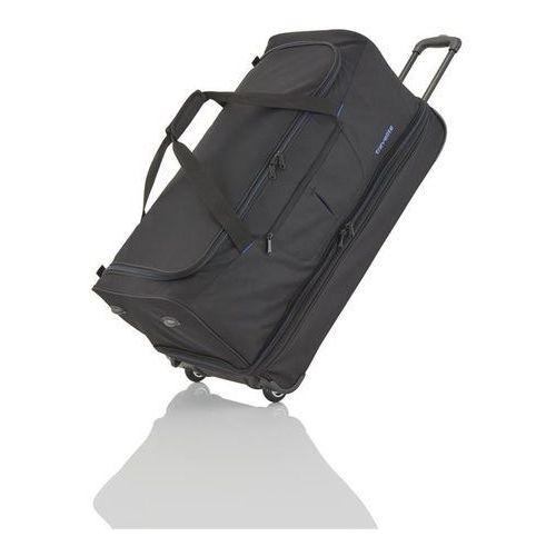 basics torba podróżna na kółkach 98/119l schwarz 2-koła - czarny marki Travelite