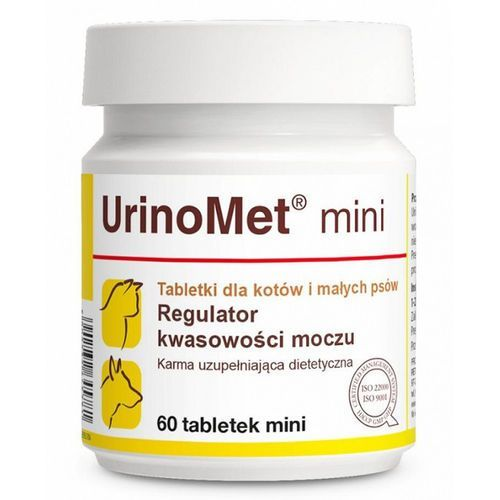 Tabletki Dolfos UrinoMet Mini dla psów i kotów 60 tabletek