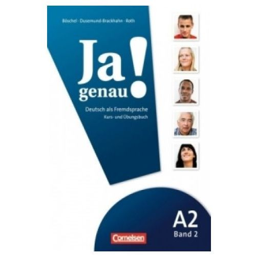 JA GENAU! A2 BAND 2 KURS- und ÜBUNGSBUCH mit AUDIO CD (184 str.)