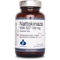 Kenay Nattokinaza NSK-SD 100mg 60kaps - suplement diety (5900672152975)