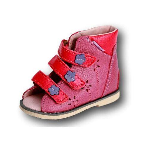2de82d6c Zobacz w sklepie Buty profilaktyczne Mazurek - wzór 209 kolor wrzos/czerwony
