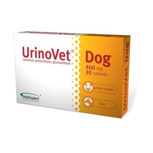 Vetexpert urinovet dog dla psów 30 tabletek - zdjęcie Vetexpert urinovet dog dla psów 30 tabletek