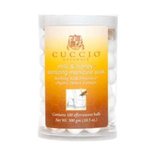 Cuccio MANICURE SOAK WITH MILK & HONEY Kulki sanitarne do manicure (100 szt.)