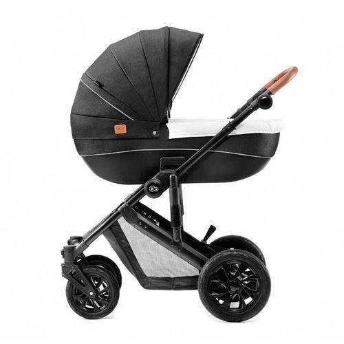 Wózek głęboko-spacerowy prime czarny - darmowa dostawa!!! marki Kinderkraft
