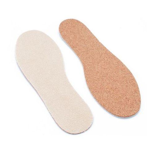 Omniskus Przeciwpotne wkładki do butów - korek naturalny rozmiar 28-46 - kma034