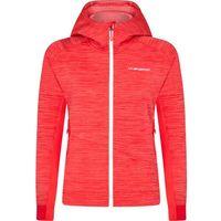 La Sportiva Aim Bluza Kobiety, czerwony S 2021 Kurtki wspinaczkowe