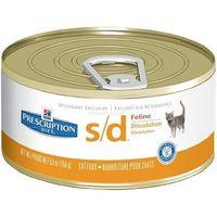 Hill's pd prescription diet feline s/d 12 x 156g - puszka marki Hills prescription diet