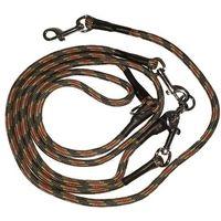 Dogstore Smycz przepinana linka 8mm/275cm: kolor - szary tęczowy dostawa 24h gratis od 99zł