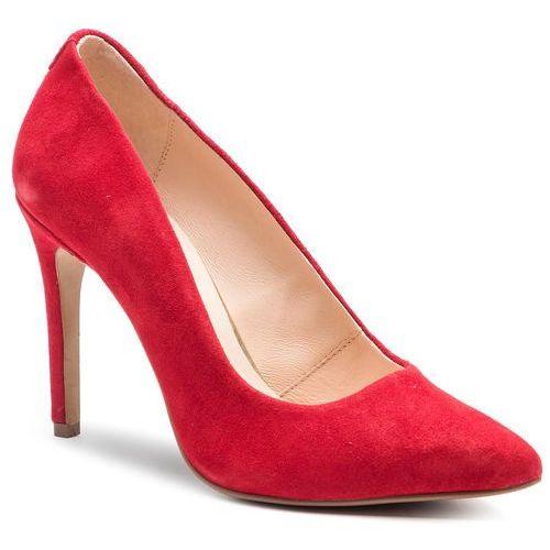 Szpilki QUAZI - QZ-15-02-000248 208, kolor czerwony