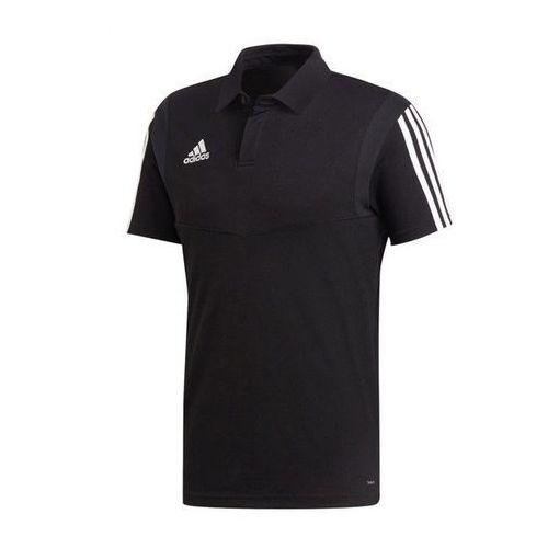 Bawełniana koszulka polo tiro 19 du0867 marki Adidas