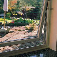 kratka ochronna na okno, dwustronna - przymocowanie nad lub pod oknem marki Trixie