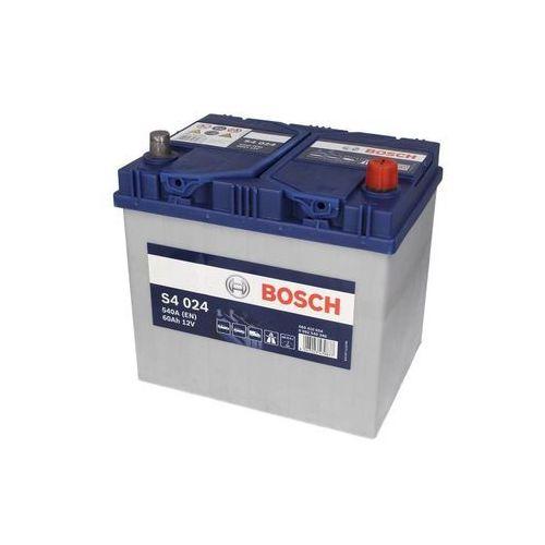 Akumulator BOSCH SILVER 60Ah 540A JP+ 0092S40240,4,S4024 ,S4.024 Wrocław ,Nowy