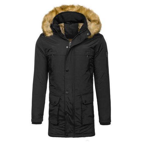 1b50908d36e5 Kurtka męska zimowa parka czarna Denley R101 ceny opinie i recenzje ...
