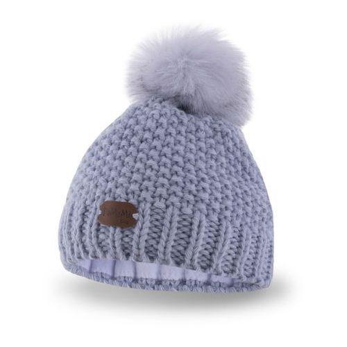 Pamami Zimowa czapka dziewczęca - lodowy - lodowy (5902934023474)