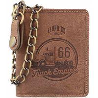 Klondike 1896 Wayne Truck Portfel skórzany10 cm mittelbraun ZAPISZ SIĘ DO NASZEGO NEWSLETTERA, A OTRZYMASZ VOUCHER Z 15% ZNIŻKĄ