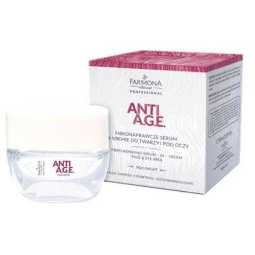 Farmona anti a.g.e. fibronaprawcze serum w kremie do twarzy i pod oczy - Ekstra promocja