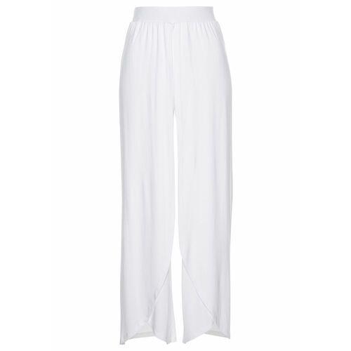 Spodnie alladynki biały, Bonprix, 36-54