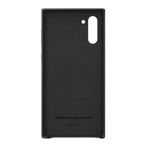 galaxy note10 leather cover ef-vn970lb (czarny) marki Samsung