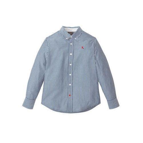 4b9d0f4ac3dee6 Zobacz w sklepie Koszula z długim rękawem w paski niebiesko-biały w paski  Bonprix