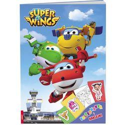 Super Wings Kolorowanka i naklejki - Ameet OD 24,99zł DARMOWA DOSTAWA KIOSK RUCHU