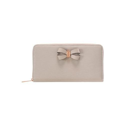 Ted Baker ORALIA BOW DETAIL ZIP MATINEE Portfel taupe