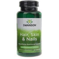 Swanson Hair, Skin, Nails (Włosy, Skóra, Paznokcie) - 60 tabletek