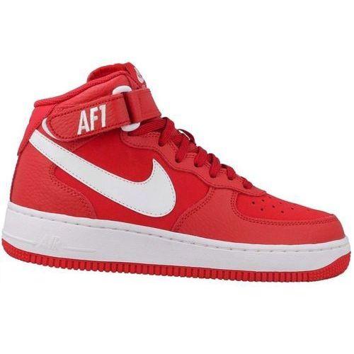 Damskie air force 1 mid (gs) 314195-604 czerwone top mod, Nike, 36-40
