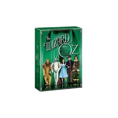 Czarnoksiężnik z krainy oz: limitowana edycja kolekcjonerska (4xdvd) - victor fleming darmowa dostawa kiosk ruchu marki Galapagos films