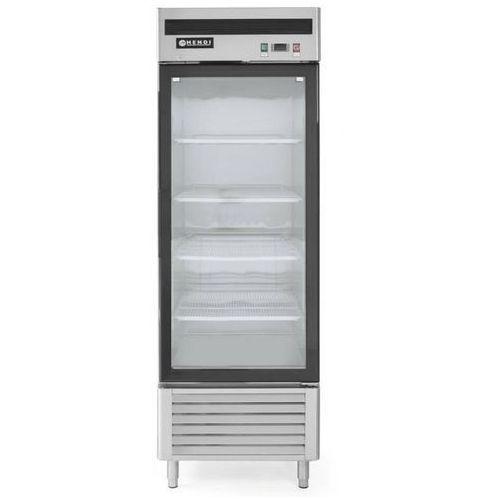 Szafa chłodnicza przeszklona 1-drzwiowa   610l   +2/+8°c   685x800x(h)2120mm marki Hendi