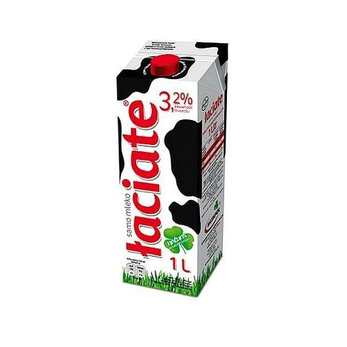 Mlekpol Mleko łaciate uht 3.2% 1l x 12szt