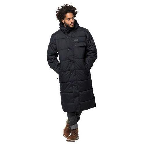 Płaszcz męski kyoto coat m black - l marki Jack wolfskin