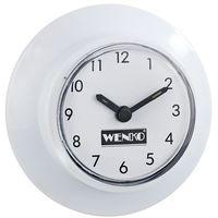 Zegar łazienkowy z przyssawką - 2 sztuki w komplecie, WENKO (4008838466759)