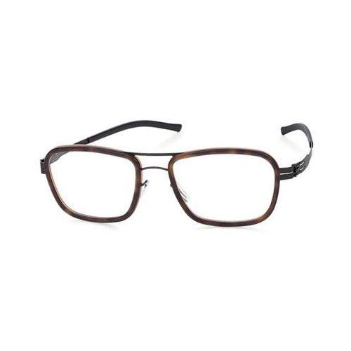 Ic! berlin Okulary korekcyjne d0017 thien n. black-tortoise-shell-matt