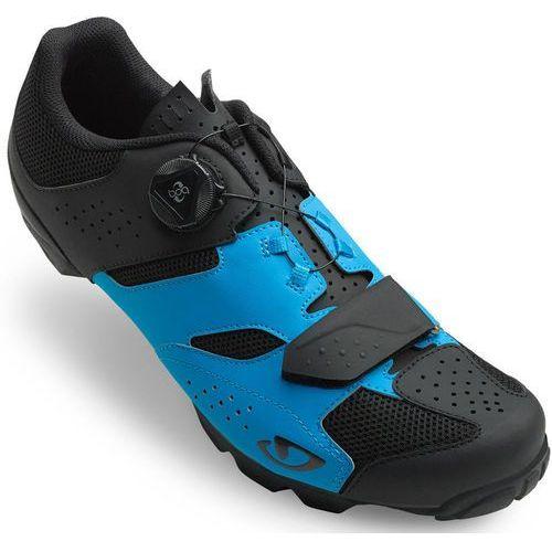 Giro Cylinder Buty Mężczyźni niebieski/czarny 46 2019 Buty rowerowe