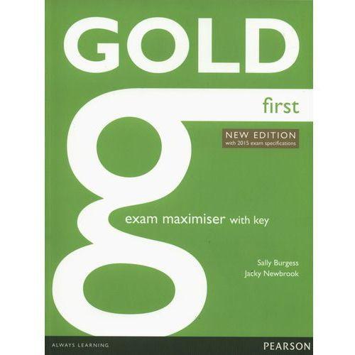Gold First New Exam Maximiser With Online Audio With Key, oprawa miękka