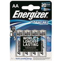 4 x bateria foto litowa Energizer L91 Ultimate Lithium R6 AA, EN22