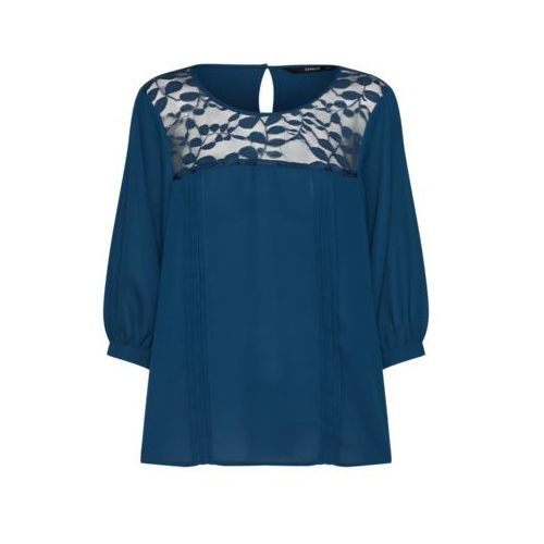 ONLY ONLVENICE Bluzka blue wing teal,