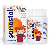 Tabletki Sanostol x 60 tabletek do ssania