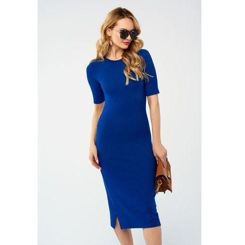 Sukienka Hunny w kolorze niebieskim, w 4 rozmiarach