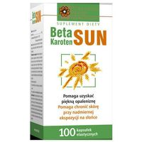 Kapsułki BETAKAROTEN SUN x 100 kapsułek