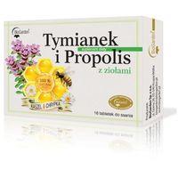 Tymianek i Propolis z ziołami 16 pastylek do ssania