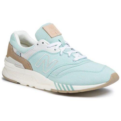 Sneakersy - cw997hbe zielony marki New balance