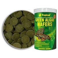 green algae wafers pokarm w formie wafelków dla glonojadów ze spiruliną 1000ml/450g marki Tropical