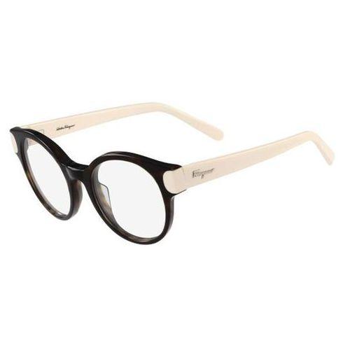 Salvatore ferragamo Okulary korekcyjne sf 2757 215