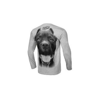 1eec7a982 Koszulka z długim rękawem Pit Bull Pitbull IR'19 - Szara (239039.1500)  Zbrojownia.pl