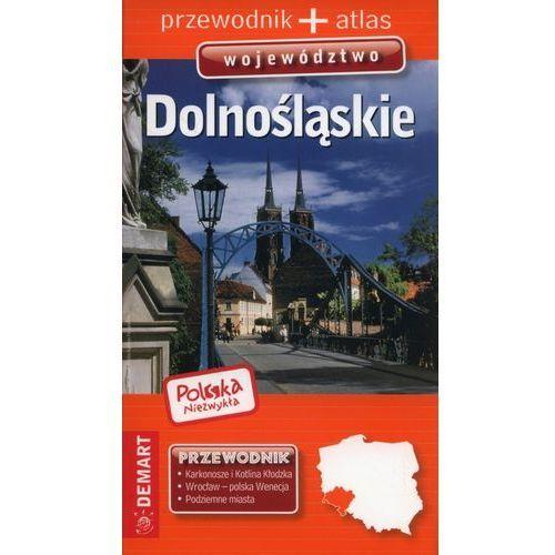 Polska Niezwykła Województwo dolnośląskie przewodnik + atlas, oprawa miękka